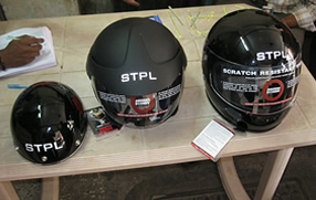 Internal Helmet Distribution