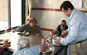 Visiting An Old Age Home
